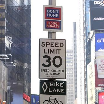 New York City's 'Don't Honk' signs, which are largely ignored by drivers, are being taken down