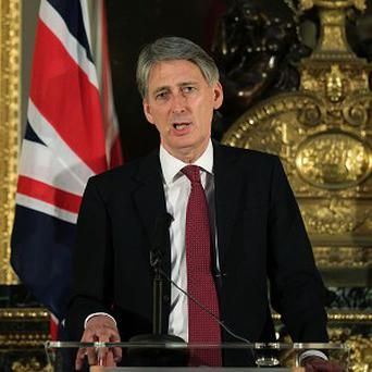Philip Hammond rejected charges of 'mission creep', insisting support for the French is in Britain's national interest