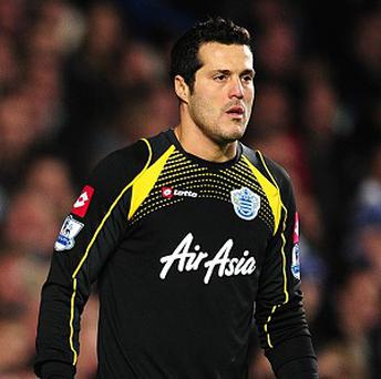 Manchester City were thwarted by an inspired display from Julio Cesar