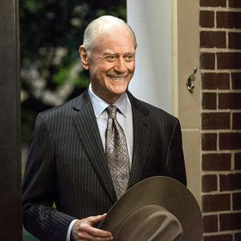 The late Larry Hagman stars as JR Ewing in the reboot of hit TV show Dallas