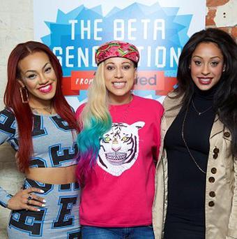 Stooshe like to give their fans advice and support via Twitter