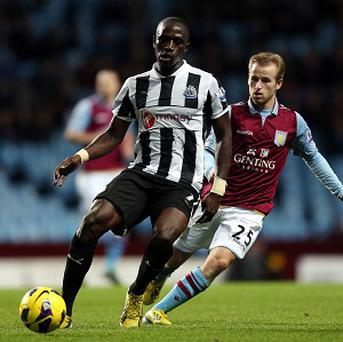 Moussa Sissoko, left, was praised for his part in Newcastle's victory over Aston Villa