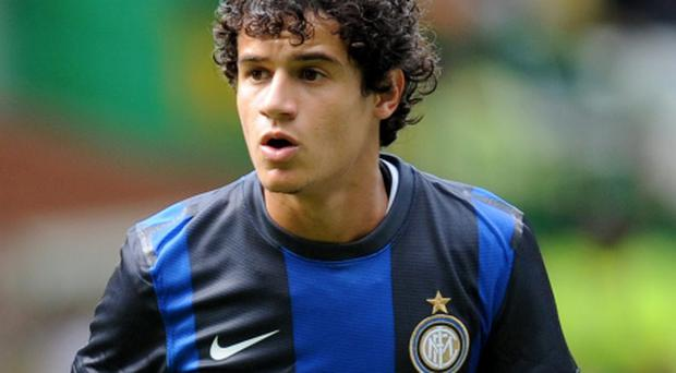 File photo dated 28/07/2012 of Philippe Coutinho. PRESS ASSOCIATION Photo. Issue date: Wednesday January 30, 2013. Liverpool have confirmed the signing of Philippe Coutinho from Inter Milan on a long-term contract. See PA story SOCCER Liverpool. Photo credit should read: Craig Halkett/PA Wire