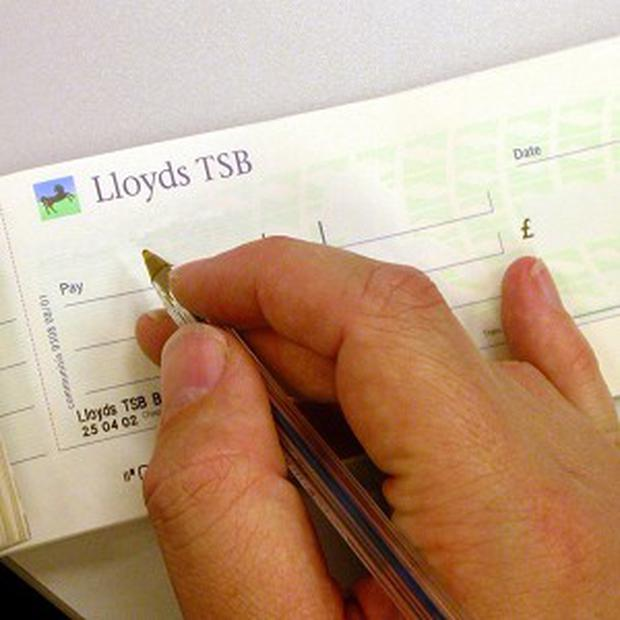 Tomas Georgeson hopes to boost visitor numbers by concealing a cheque, with the payee left blank, in an art gallery