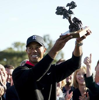Tiger Woods remains second in the world rankings (AP)