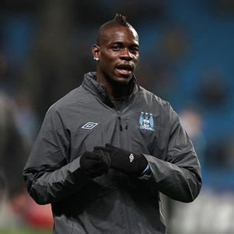 Mario Balotelli was taken to a clinic to undergo his medical for AC Milan on Wednesday