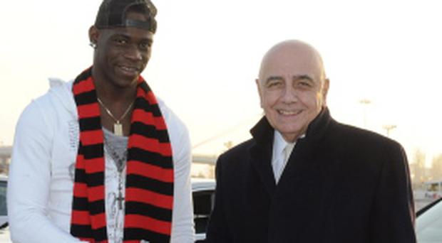 Mario Balotelli has signed for AC Milan from Man City