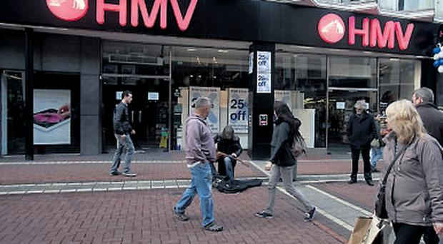 One of the most high profile business failures was music retail chain HMV, which went into receivership
