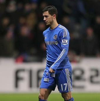 Eden Hazard has not had the ban for his red card at Swansea extended