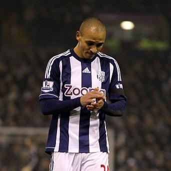 Peter Odemwingie is in London but a deal has not yet been agreed with QPR