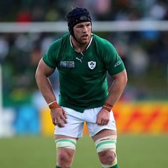 Donnacha Ryan, pictured, hopes he can put his 'stamp on things' as he fills the void left by injured Paul O'Connell