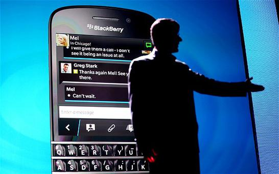BlackBerry was once a dominant force in the smartphone industry