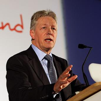 First Minister Peter Robinson said peace is still a 'work in progress'