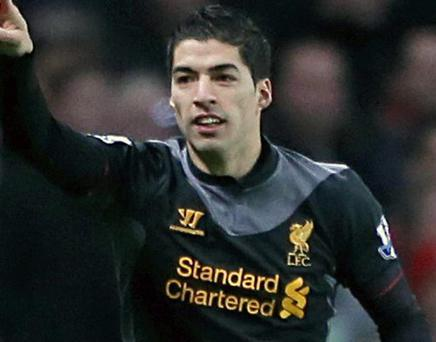 Suarez missed a number of chances