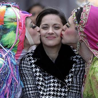 Marion Cotillard won this year's Hasty Pudding prize