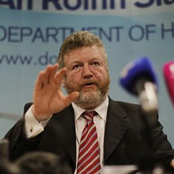 Dr James Reilly expects draft legislation reforming the abortion ban to be ready by Easter