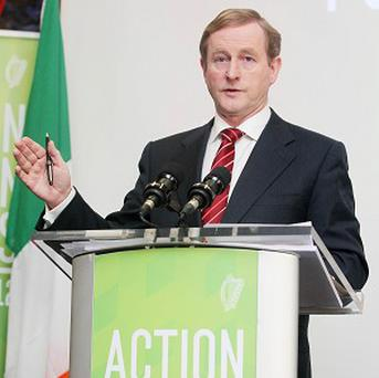 Enda Kenny is to meet Jose Manuel Barroso and Herman Van Rompuy in Brussels