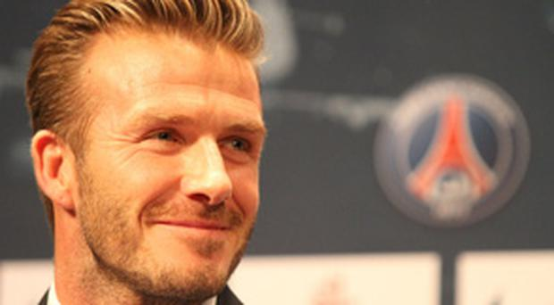 David Beckham hopes to emulate his old Man United clubmates Paul Scholes and Ryan Giggs