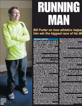 Rathdrum's Bill Porter who is the current chairperson of Wicklow Athletics.