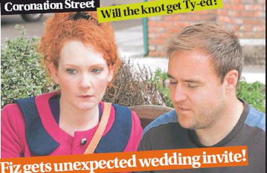 invite! Fiz gets unexpected wedding
