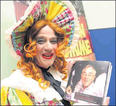 Declan Mangan will launch his book Dame Declan's diary 'Diddiliadada', a look back at 50 years of Killorglin pantomime at the CYMS, KIllorglin. Credit: Photos by Michelle Cooper Galvin
