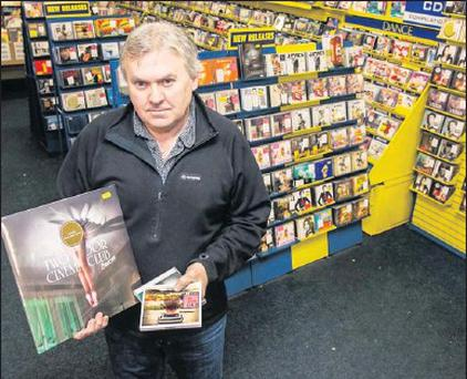 Brian Lee of Lee Records in Tralee, one of the last remaining record shops in Kerry.