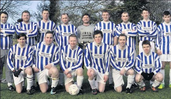 Aclare Celtic who beat Gurteen Celtic in the Connacht Cup on Sunday last.