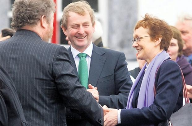 Both parties have strongly sang Máire Whelan's praises and Fine Gael sources have stressed the high regard the Taoiseach has for her