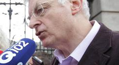 Socialist TD Joe Higgins said it was 'unlikely' he would sign off on the final report even after it was amended