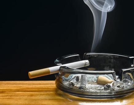 'If you develop a condition triggered by smoking, you are likely to be reprimanded for your habit'