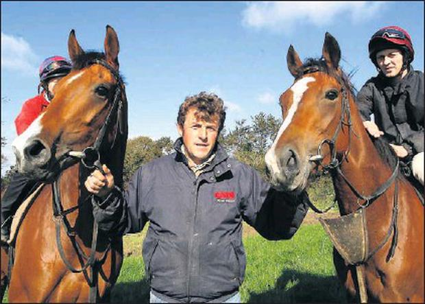 Lusk racehorse trainer Adrian McGuinness