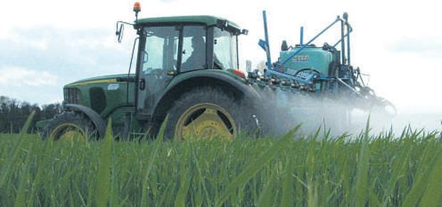 Fertiliser and slurry spreading has begun for those in drier areas.