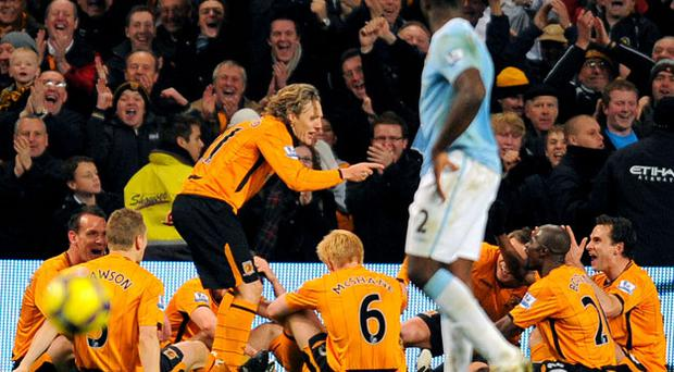 Jimmy Bullard during his time with Hull City