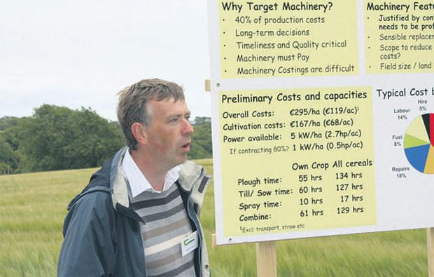 Teagasc's machinery specialist Dermot Forristal echoed the manufacturer's concerns.