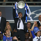 Roberto Di Matteo after winning the Champions League as Chelsea manager.