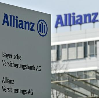 Allianz saw a surge in profits in the first quarter of the year.