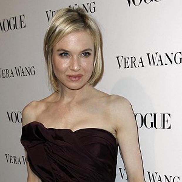 Renee Zellweger pictured in 2010