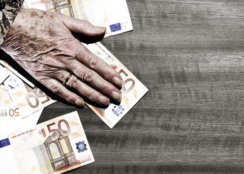 The increases will see some retired public sector workers getting an annual increase in their income of €1,000. (Maarten Wouters/Getty Images)