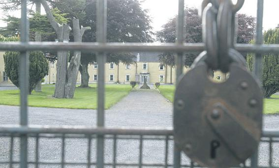 The scene at Daingean Reformatory School, Co Offaly which was owned by the Oblates of Mary Immaculate.