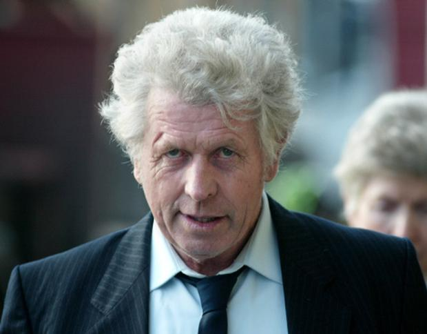 Padraig Nally during his trial for the manslaughter of John Ward in October 2004.