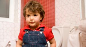 It is a good idea to have a child toilet-trained by four. Photo: Thinkstock