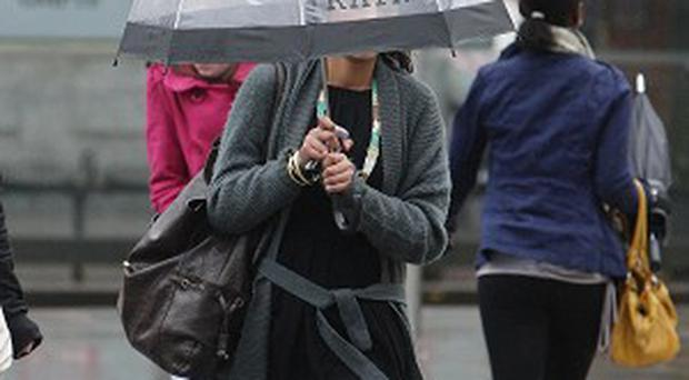 Ireland is braced for a wet and windy weekend