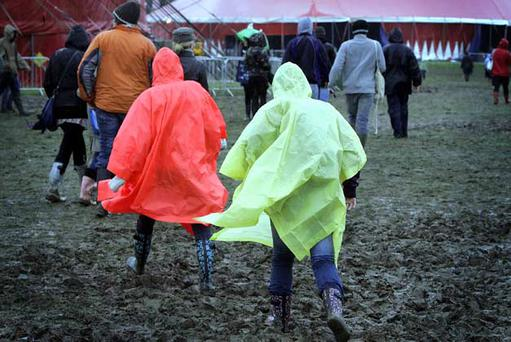 Festival-goers brave the elements at Electric Picnic 2012