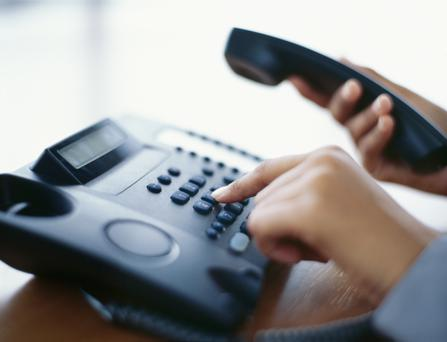 Just 6pc of people with a landline switched provider last year. Stock image