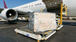 The alternative of air freight is expensive, aircraft are currently used only to ship the most valuable products. Stock photo: Thinkstock