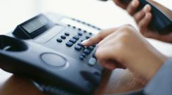 Never give out personal information until you have checked the caller is genuinely from the organisation they claim to be from. (Stock image)