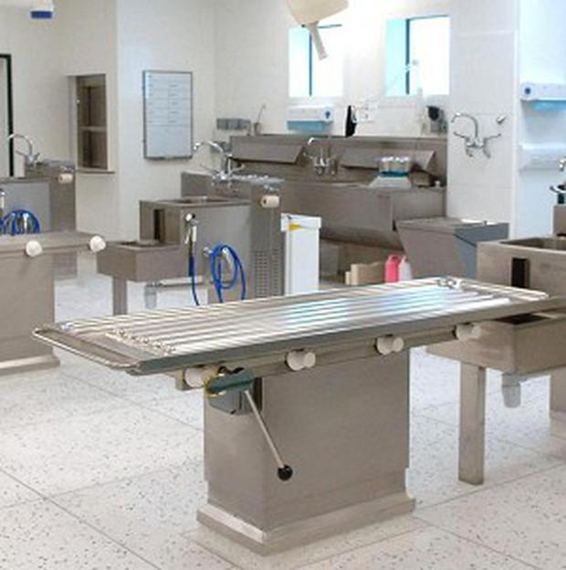 'In the hierarchy of priorities for funding, the hospital mortuary can end up down the scale, overtaken by the need for extra beds, medical equipment or a new ward' (stock photo)
