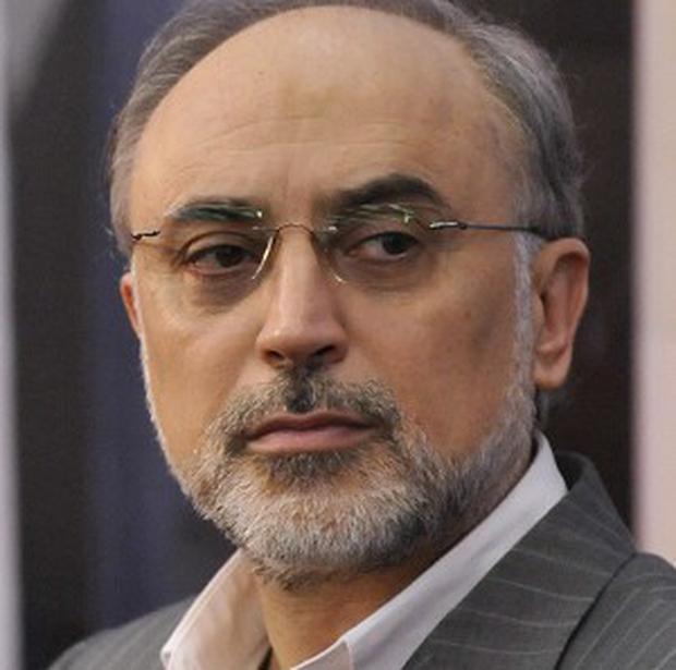In the latest escalation of the country's nuclear ambitions, Ali Akbar Salehi (p), the head of the Iranian Atomic Energy Organisation, said it would renege on the commitment, according to the semi-official ISNA news agency. (AP photo)