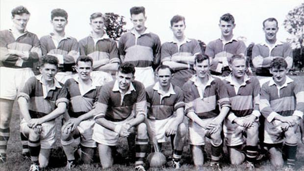Aengus Fanning (back row) when he played for Kerry in 1960s
