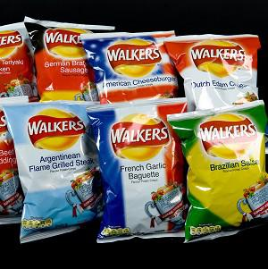 Walkers is researching how to make more environmentally-friendly packets for its crisps